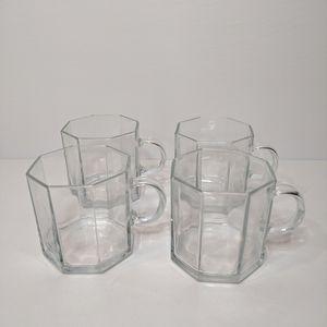 Vintage Arcoroc Octime Cups (4)